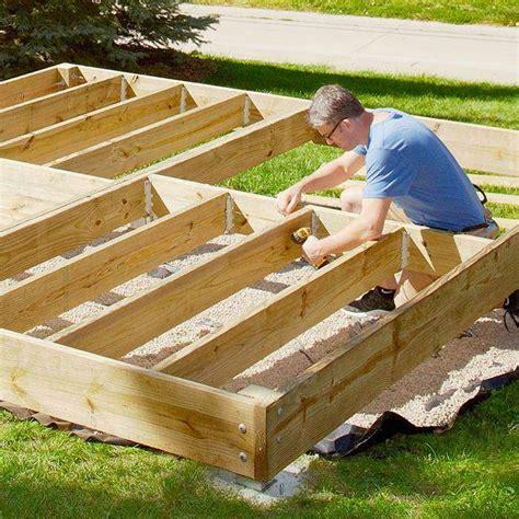 build  platform deck platform deck diy deck