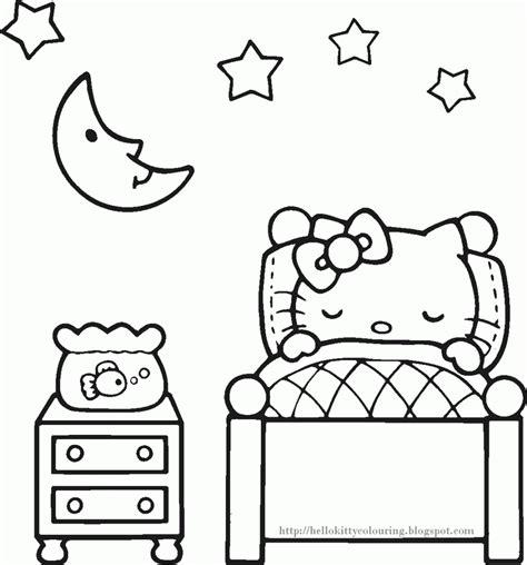 Hello Kitty Princess Coloring Page Princess Hello Coloring Pages