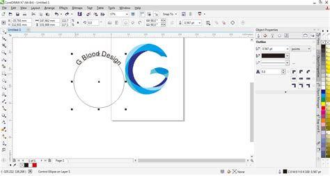 cara membuat pattern pada corel draw cara membuat teks melengkung pada corel draw fith text to
