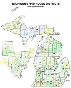 state house district map michigan district map quotes