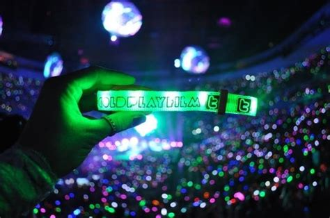 coldplay xyloband 17 best images about xylobands coldplay on pinterest