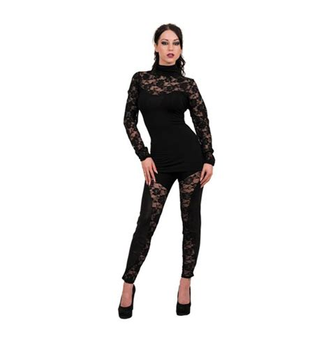 Plain Lace Sleeve Top spiral plain lace corset top sleeve with high neck