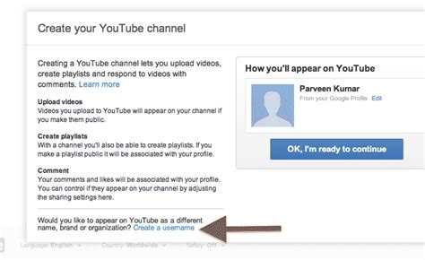 how to create an adsense url channel to track ads performance how to create vanity url for your channel in youtube