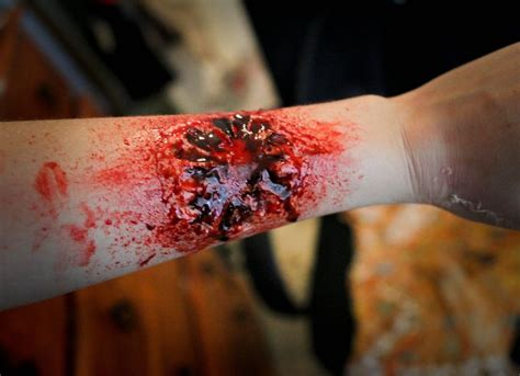 zombie bite makeup tutorial 99 best voodoo priestess ideas zombiecon 2014 images on