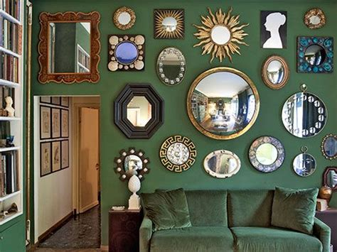 wall of mirrors creative decorating with mirrors