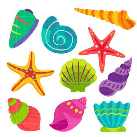 sea shell clip seashell clipart clipartion