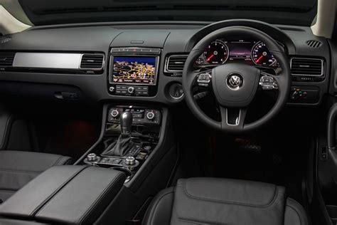 volkswagen touareg 2017 interior volkswagen touareg adventure edition announced for