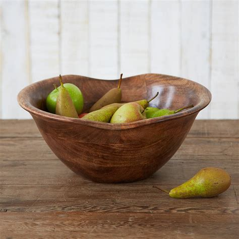 fruit bowl natural wooden fruit bowl by paper high