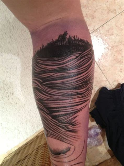 parkway tattoo parkway drive blue since i m a parkway