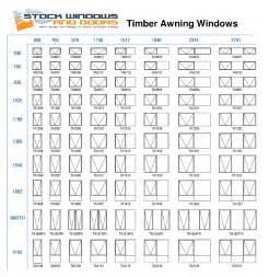 Anderson Awnings Casement Window Size Chart Quotes