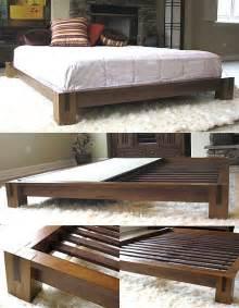 Japanese Platform Bed Frame Japanese Platform Bed Frames Bed Amp Bath