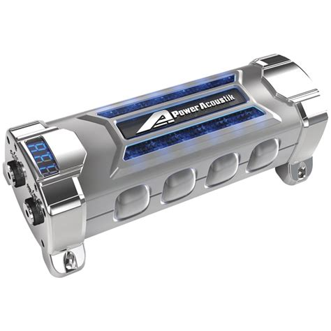 what does a digital power capacitor do power acoustik pcx 5f 5 farad car audio capacitor
