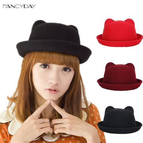 2016 Fashion Winter Wool Makes Hotspot Cat Ear Hat Beanie F 1 cat ears hat wallpaper