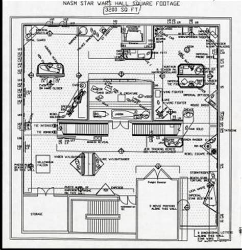 star wars floor plans film video smithsonian institution archives