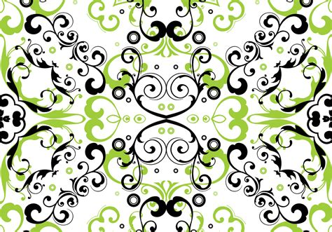 flower pattern green green floral seamless pattern vector download free