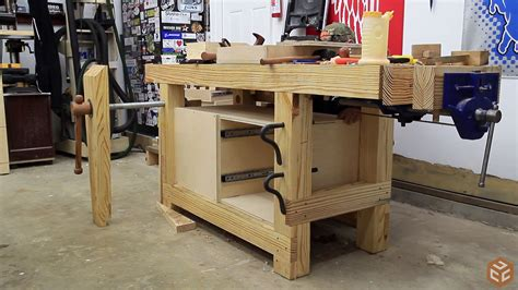 woodworking bench tools and easy workbench cabinet jays custom creations