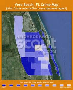 map of florida showing vero vero crime rates and statistics neighborhoodscout