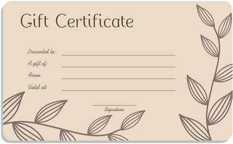 pedicure gift certificate template invitation template
