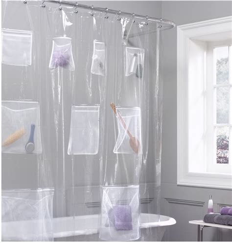 In Shower Curtain - jeri s organizing amp decluttering news bathroom organizing shower curtains with pockets
