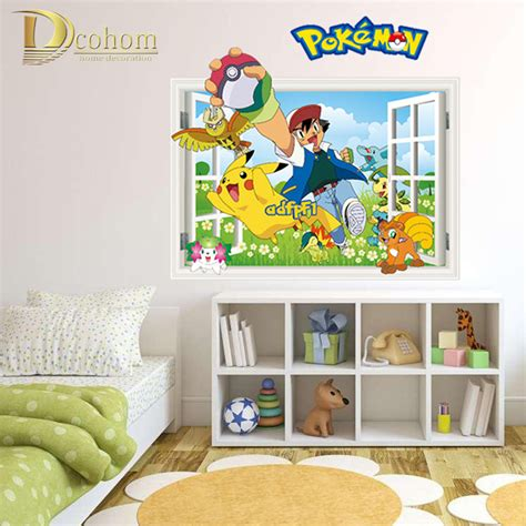 pokemon home decor popular pokemon wall decals buy cheap pokemon wall decals