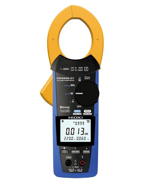 Multimeter Hioki hioki launches the ac cl power meter cm3286 series hioki