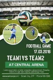 Football C Flyer Template by Soccer Poster Templates Postermywall