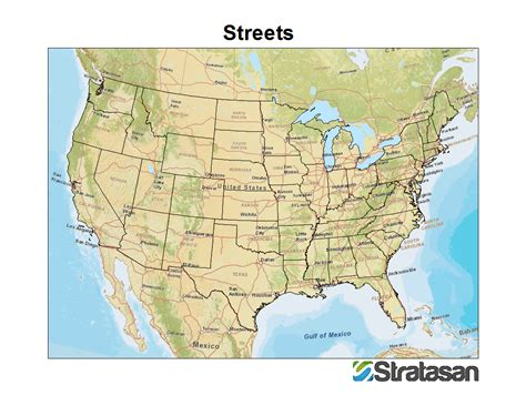 map of usa bodies of water healthcare mapping the of stratasan gis