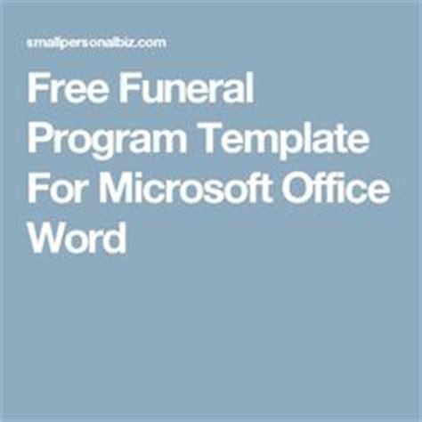 templateao memorial pinterest funeral