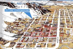 maps aspen colorado aspen mountain vacation rentals at the base of lift 1a