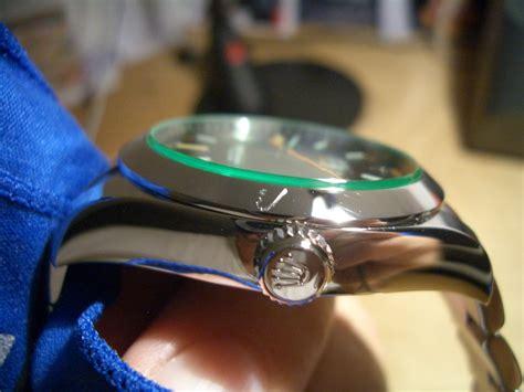 Rolex Glas Kratzer Polieren by Meine Erste Rolex Eine Milgauss Gv Uhrforum Seite 4