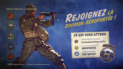 division aeroportee soluce call  duty wwii