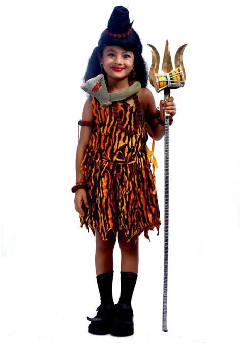 Sheva Dress sbd lord shiva god mythological fancy dress costume for