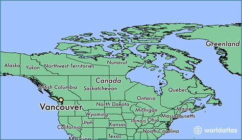 america map vancouver where is vancouver bc vancouver columbia map