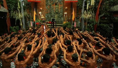 The Balinese belonging to indonesia culture of bali indonesia tari kecak