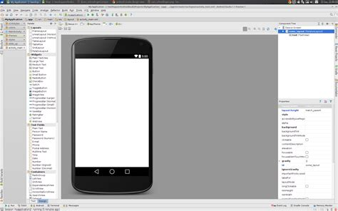 layout of android studio android studio design view too small stack overflow