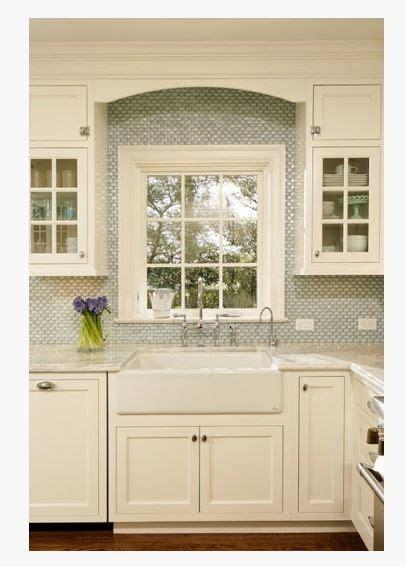 backsplash around window white on white kitchen backsplash around window home