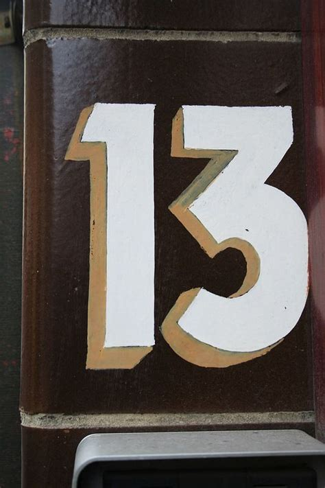 Missing Apartment Number Target Apartment Door Number 13 And Friday The 13th On