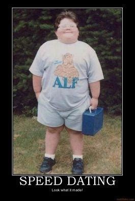 Speed Dating Meme - image 22223 fat alf kid know your meme