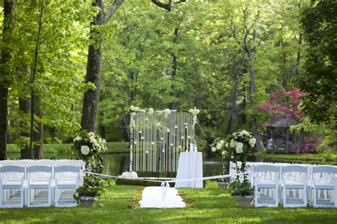 outdoor wedding in new jersey classic pink castle wedding in new jersey inside weddings