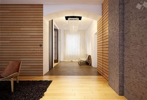 interior wall modern wood clad interior walls interior design ideas