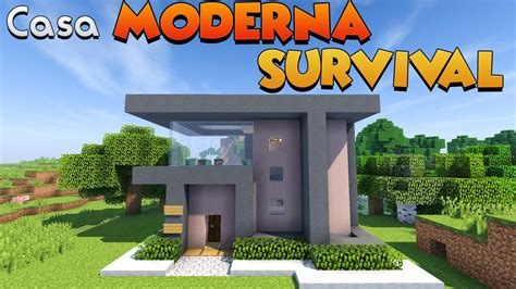 minecraft come costruire una casa come costruire una casa moderna per il survival su