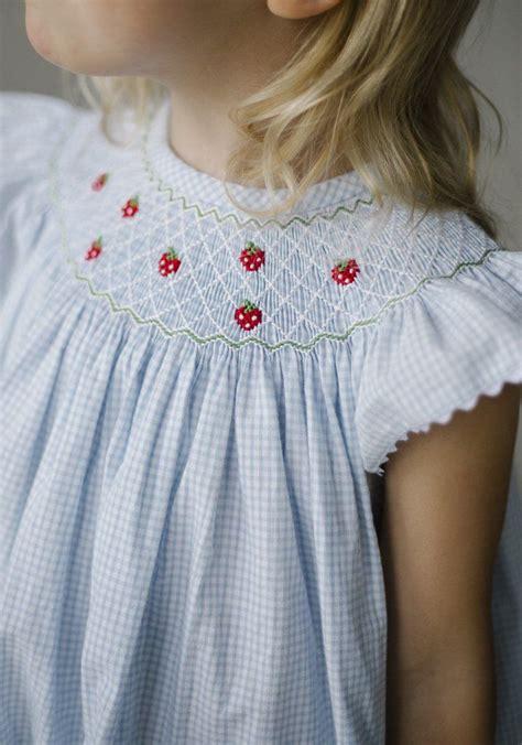 Strawberry Dress 3th strawberries bishop dress classic children s clothing preppy children