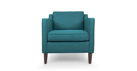 Sofa Chair by Cherie Teal Armchair Lounge Chairs Article