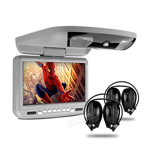 ceiling mounted dvd players for cars 9 quot car roof mounted dvd player flip monitor with