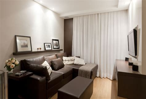 sofa sala de tv decora 231 227 o de sala de tv sof 225 marrom decora 231 227 o
