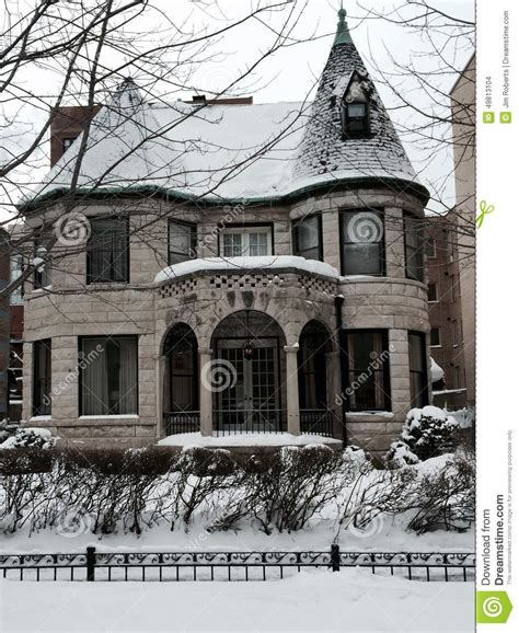 Queen Anne House Plans snow on a queen anne editorial stock image image of queen