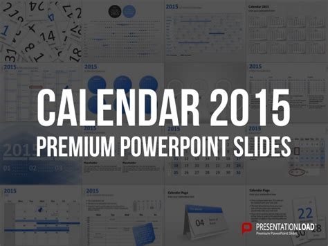 Powerpoint Calendars 2015 Template Powerpoint Calendar Template 2015
