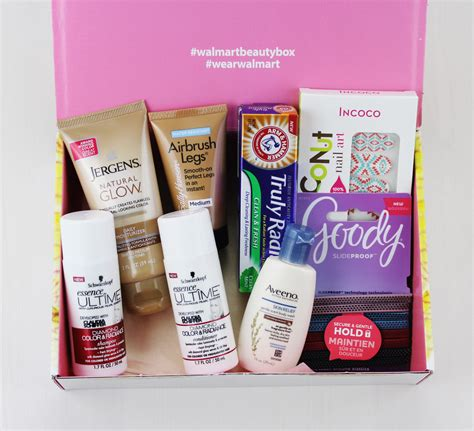 Review Mojo Cosmetics 3 by Walmart Box Review Summer 2016 Trendsetter Box