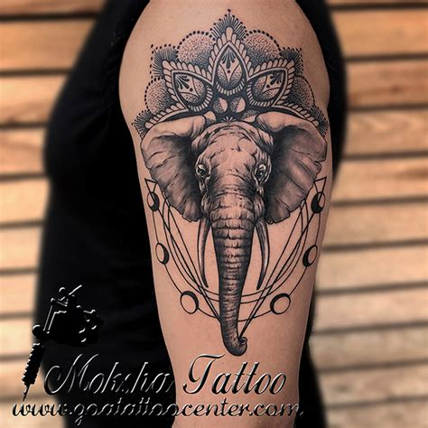 tattoo prices goa geometric elephant tattoo done by mukesh