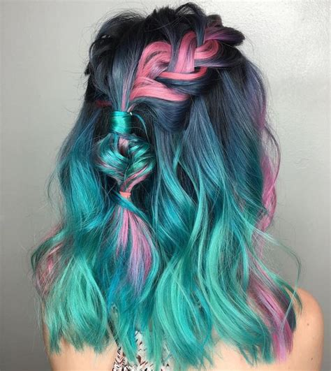 teal color hair 30 teal hair dye shades and looks with tips for going teal
